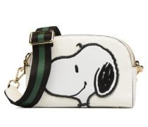 POLIPPI Pouch Handtasche in braun