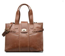 SERMA Porté main cuir vieilli Handtaschen für Taschen in braun