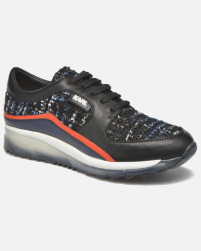 Pop Sneaker in schwarz