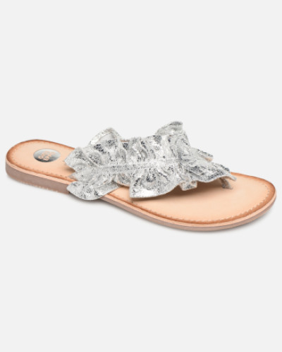 44764 Clogs & Pantoletten in silber