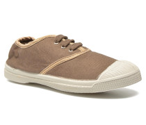 Tennis Lacets Shinypiping E Sneaker in braun