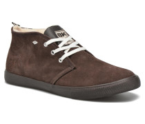 Devon Mid Sneaker in braun