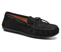 Men'S Casual Moc Slipper in schwarz