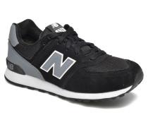 KL574 J Sneaker in schwarz
