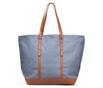 Cabas coton et cuir M+ Handtaschen für Taschen in blau