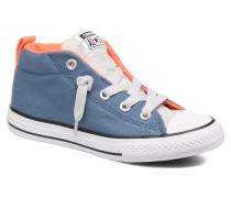 Chuck Taylor All Star Street Mid Sneaker in blau
