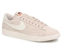 W Blazer Low Sd Sneaker in beige