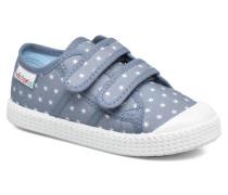 Basket Estrellas Velcros Sneaker in blau