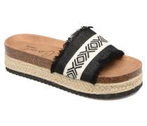 Samba Sandalen in schwarz