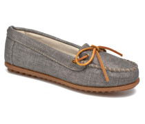 Canvas Moc Slipper in grau