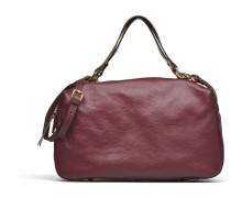 OMEAinGR Double porté Cuir Handtaschen für Taschen in weinrot