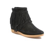 Emmy Fringes Stiefeletten & Boots in schwarz