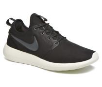 Roshe Two Sneaker in schwarz