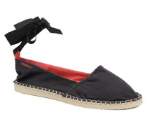 Origine Slim Espadrilles in schwarz