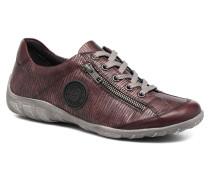 Quinn R3408 Sneaker in weinrot