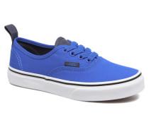 Authentic Elastic Lace Sneaker in blau
