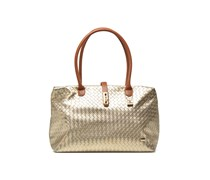 Shopping tressé N+TRE Handtaschen für Taschen in goldinbronze