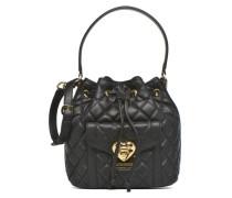 Sac seau matelassé Handtaschen für Taschen in schwarz