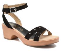 Irita 3 Sandalen in schwarz