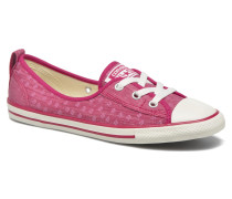 Chuck Taylor All Star Ballet Lace Sneaker in rosa