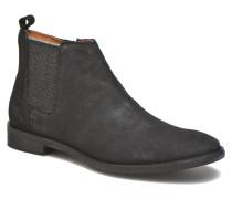 Mia Brogue Zip Stiefeletten & Boots in schwarz