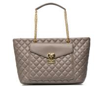 Quilted Cabas E16 Handtaschen für Taschen in grau