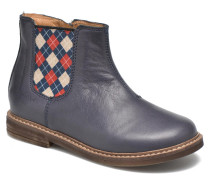Retro Jodzip Stiefeletten & Boots in blau