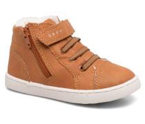 Jojo Zip Bootie Sneaker in braun