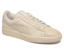 Suede Classic Wn's Sneaker in beige