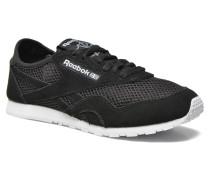 Cl nylon slim mesh Sneaker in schwarz
