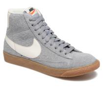Wmns Blazer Mid Suede Vintage Sneaker in grau