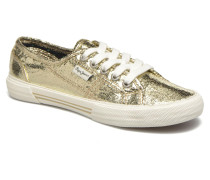 Aberlady Crackle Sneaker in goldinbronze