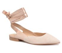 Adela Ballerinas in beige