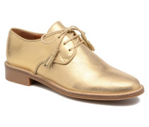 Newton Derby Schnürschuhe in goldinbronze
