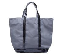 Cabas coton paillettes M+ Handtaschen für Taschen in blau