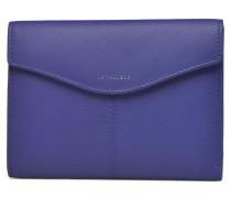 VALENTINE Portefeuille poche zippée Portemonnaies & Clutches für Taschen in blau