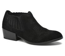 Western Leather Low Boot Stiefeletten & Boots in schwarz
