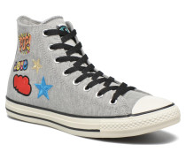 Chuck Taylor All Star Hi Patches M Sneaker in grau
