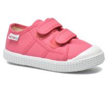 Basket lona Dos Velcos Sneaker in rosa