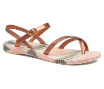 Fashion Sandal IV F Zehensandalen in braun