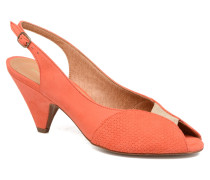 Alpha Buckle Pumps in rosa