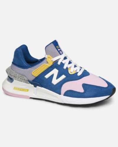 W997 Sneaker in blau