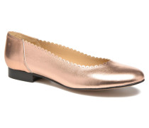 Sanfeston Ballerinas in goldinbronze