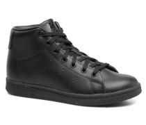 Stan Smith Mid J Sneaker in schwarz