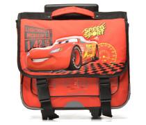 Cartable 38cm Trolley Cars Schulzubehör für Taschen in rot