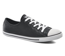 All Star Dainty Cuir Ox W Sneaker in schwarz