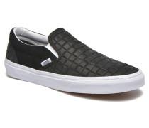 Classic Slipon Sneaker in schwarz