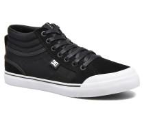 Evan Hi B Sneaker in schwarz