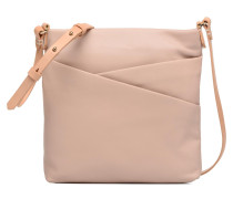TOTTINGTON DUO Crossbody cuir Handtasche in rosa