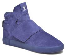 Tubular Invader Strap Sneaker in blau